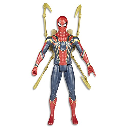 Avengers Infinity War Titan Hero Iron Spider Power FX Figura de acción 30cm