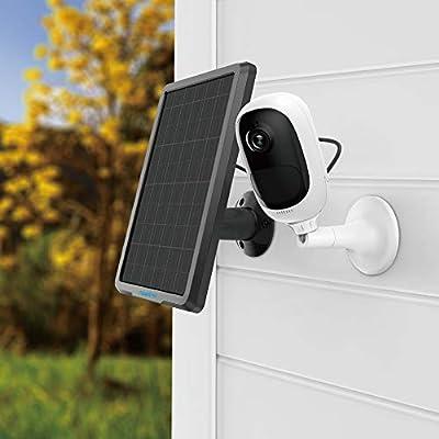 Reolink Argus Pro con Pannello Solare Telecamera di Sicurezza 1080P Outdoor Cam Ricaricabile a Batteria WiFi IP Cam con Allarme Sirena, audio a 2 vie, Rilevazione moire PIR (pannello solare incluso) by Reolink