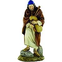 Bertoni figurina pastore con cornamusa, multicolore, Legno, Multi-colour, 12 cm