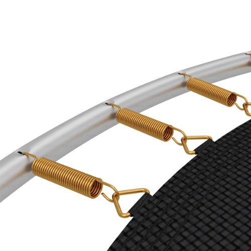 Ampel 24 Trampolin Feder-Set | 12 Spiralfedern | Länge Zugfeder ca. 140 mm | Sprungfeder extra verstärkt & lange haltbar -