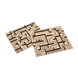 BRIO Labyrinth Boards - Accesorios para Juegos de Mesa (Negro, 6 año(s), Madera, 273 mm, 228 mm, 9 mm)