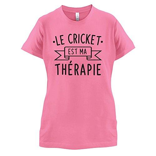 Le cricket est ma thérapie - Femme T-Shirt - 14 couleur Azalée