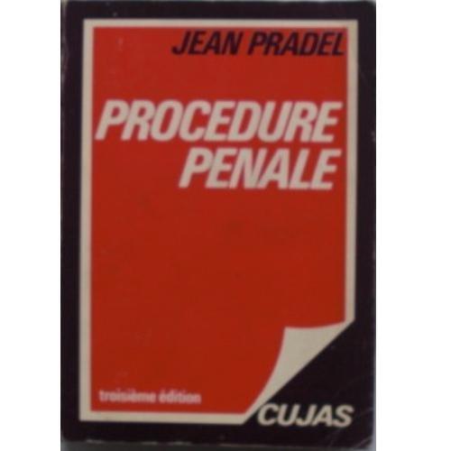 Procédure Pénal par Jean Pradel