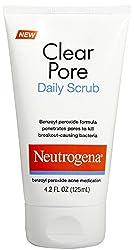 Neutrogena Clear Pore Scrub, 4.2-Ounces Tube