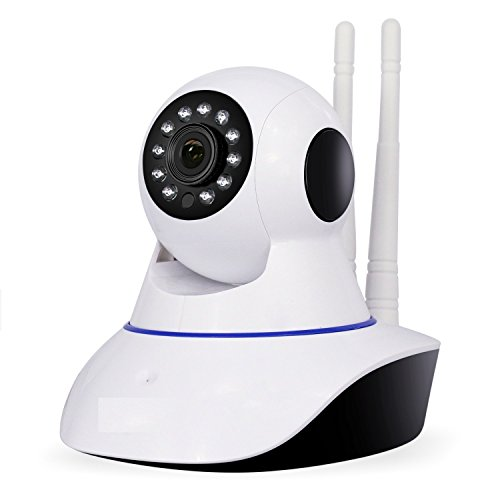 Samsung Galaxy On Max Compatible Wireless 720P HD Wifi Video Monitoring IP Camera With 2 Way Audio For Your Home | Baby | Pets | Business By mobicell