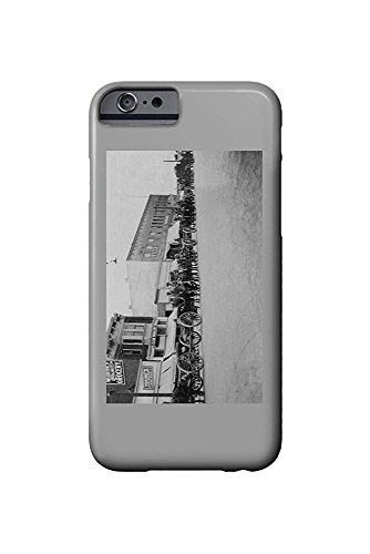 Stockton, California - View of Horse Carriages in a Parade (iPhone 6 Cell Phone Case, Slim Barely There)