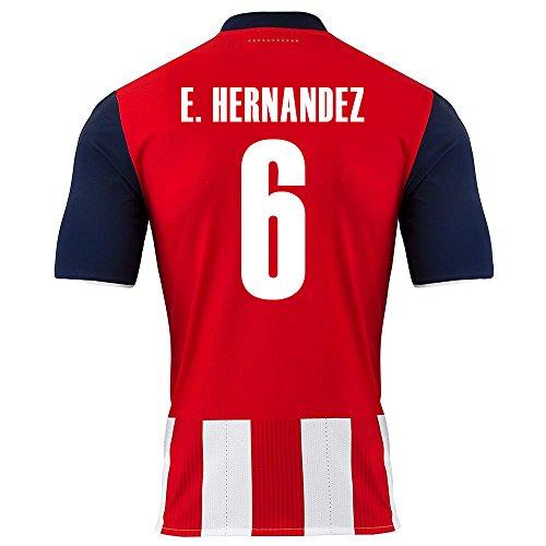 puma-e-hernandez-6-chivas-guadalajara-home-soccer-jersey-2016-17-youth-us-size-ym