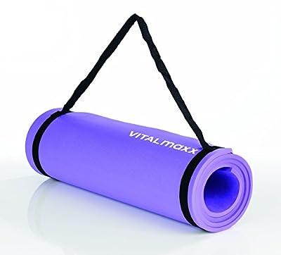 TV Unser Original Gymnastikmatte Vitalmaxx Fitness-Matte, Lila, 02221