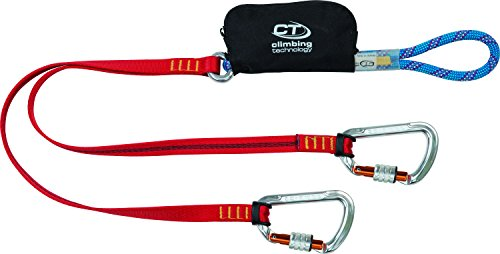 Scopri offerta per Climbing Technology Classic K-Set Spring Set Via Ferrata, Multicolore