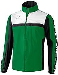 erima Regenjacke 5-Cubes - Chaqueta de ciclismo para hombre, color Verde, talla XL