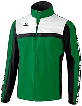 erima Regenjacke 5-Cubes - Chaqueta de ciclismo para hombre, color Verde, talla 3XL