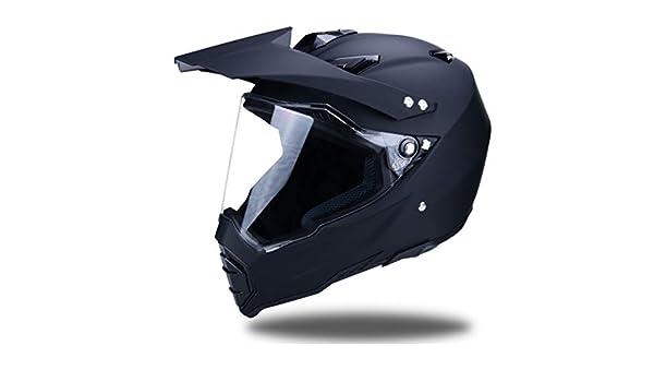 Erwachsene Anti-UV-Objektiv Flip Up Motorradhelm Off-Road Full Face Motorradhelm Moto Safety Caps 55-62cm