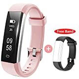 HolyHigh Fitness Tracker Smart Watch (Pink)