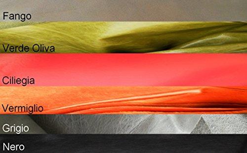 Leder-Mittel Kalb für Schuhindustrie und Herstellung von Taschen und Gürtel, Bronze - Handwerker-kalb-leder