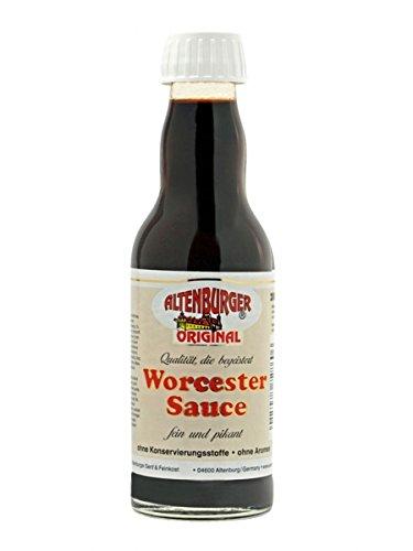 Original Worcester Sauce - 200ml - Glutenfrei, Vegan - Worcestershire Sauce