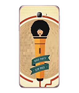 Fuson Designer Back Case Cover for Samsung On5 (2016) New Edition For 2017 :: Samsung Galaxy On 5 (2017) (think different loud speakers bass )