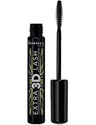 Rimmel London Extra 3D Lash Mascara, Extreme Black, 8 ml