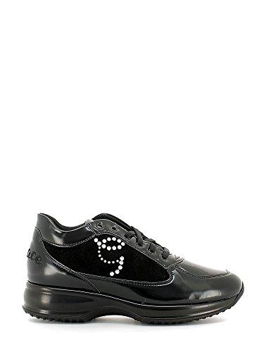 Grace shoes M117 Scarpa lacci Donna Nero 35