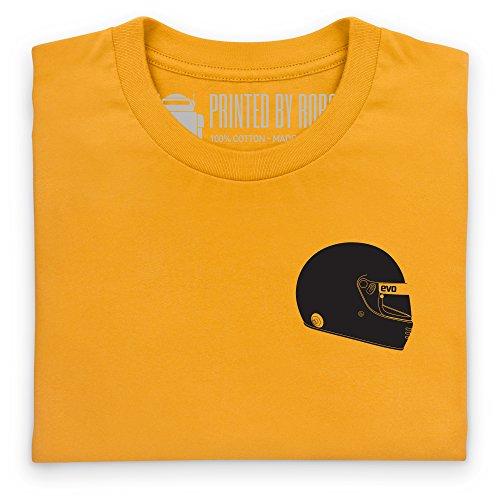 Evo Helmet T-Shirt, Herren Gelb