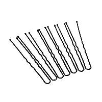 U-Pin, Black - 36 Pieces