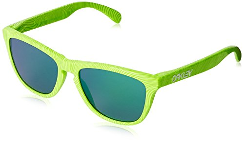 Oakley Herren Sonnenbrille OO9013 Frogskins (Oakley Sonnenbrille Grün)