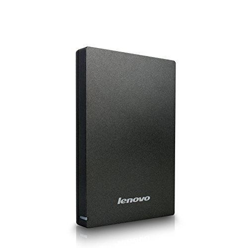 Lenovo F309 USB3.0 1TB External Hard Disk, Grey