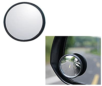 Self-adhesive Blind Spot Mirror - Convex Lens