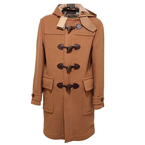 5996Q montgomery uomo BURBERRY BRIT mid camel cappotto lana jacket men [XL]