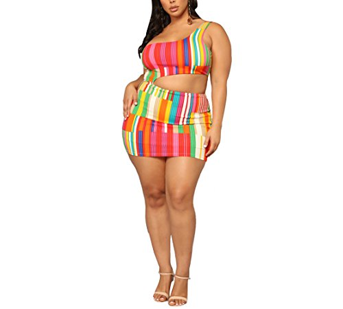 Vestido Asimétrico Asimétrico con Tirantes Asimétricos para Mujer Bodycon Club, L