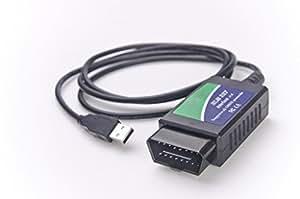 ELM327 USB Compatible avec Fiat Alfa Romeo Lancia - CAN -BUS diagnostiquer câble d'interface