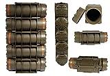 5 Stück Armee Munitionskiste Kunststoff M83BG oliv 44 x 15,5 x 16 Kunststoffkiste Munikiste