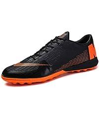 buy popular 83179 0a318 Willsky Botas de fútbol, Zapatos de Entrenamiento de fútbol para Hombre  Calzados Antideslizantes