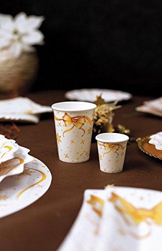 GiviItalia 63292-10 vasos de 80 cc, color dorado