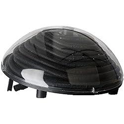 Manufacturas Gre 90230 - Calentador solar para piscina sobre suelo de entre 7,5m3 y 10m3