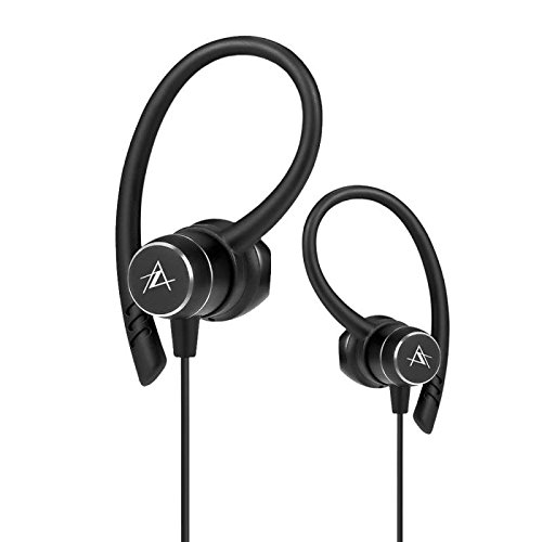 Bluetooth In-Ear Kopfhörer Kabellose Sport Ohrhörer, mit Clear Voice Capture Technologie Bluetooth in-Ear Headset mit Noise Cancelling Sweatproof für iPhone/iPad/iPod/Samsung Smartphones
