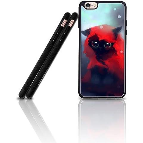 Cool Custodia Case For IPhone 6 Plus, Film Red Riding Hood Anti Dust Exclusive + Vintage Pretty Design Drop Prottetiva Plastic Tough Back Skin Custodia Case For IPhone 6 6s Plus [5.5
