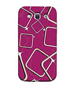 PrintVisa Designer Back Case Cover for Samsung Galaxy Win I8550 :: Samsung Galaxy Grand Quattro :: Samsung Galaxy Win Duos I8552 (Purple Design Of Big Squares)