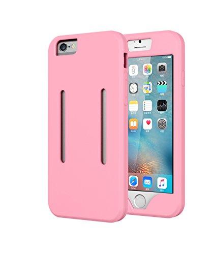 Aohang Custodia Bracciale sportivo per iPhone 6 Plus,6S Plus , perfetto per corsa, jogging, camminare, Cover case armband banda per braccio per iPhone 6 Plus 6S Plus 5.5 Pink