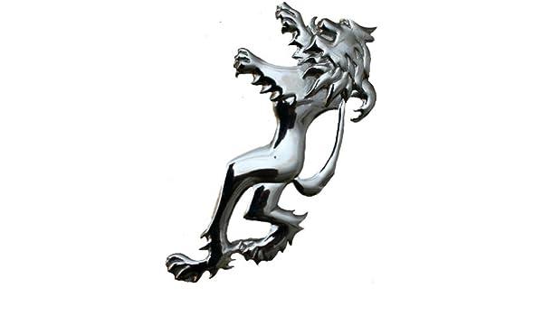 Glen Esk /écossais//celtique Broche de kilt pour homme lion antique antique//chrom/é 4 10 cm Env