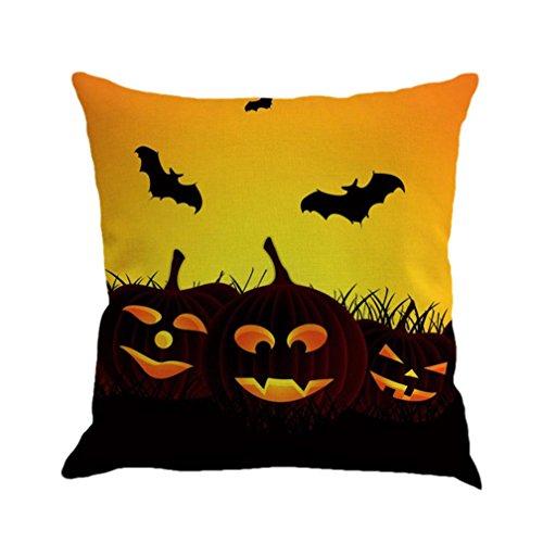 LSAltd Leinen Sofa Kissenbezüge, Happy Halloween Kissenbezug Home Decor - Kinder Kostüme Halloween D....ich.y Für