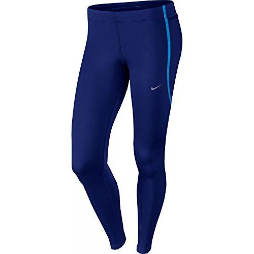 Nike TECH TIGHT - Collant, Blu, L, Donna