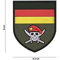 Tactical Attack Zombie Slaughter Softair Sniper PVC Patch Logo Klett inkl gegenseite zum aufn/ähen Paintball Airsoft Abzeichen Fun Outdoor Freizeit