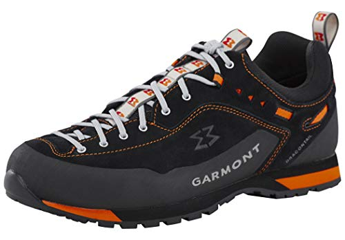 Garmont Dragontail LT Shoes Herren Black/orange Schuhgröße UK 9,5 | EU 44 2019 Schuhe - Black Lab-frame