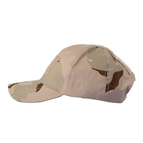 Imagen de ever fairy sombrero militar de béisbol sombrero de camuflaje táctico  para wargame hunting fishing juegos al aire libre camuflaje del desierto  alternativa