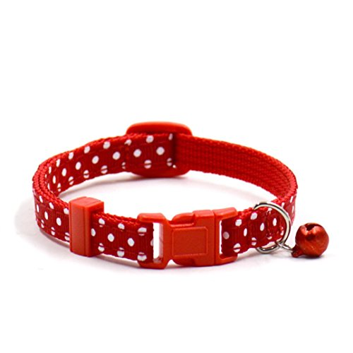 Schleifen-Halsband für Katzen mit Glocke Rosennie Hot Cute -