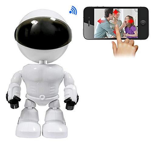 VIVICL WiFi Überwachungskamera Innen Handy 1080P HD WLAN IP Roboter Kamera Home Baby Monitor Innenkamera Haustier Kamera Haus Sicherheitskamera Mit Nachtsicht 2 Wege Audio