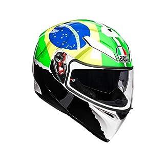 AGV 0301A1EY_010_S K-3 SV E2205 Helm REPLICA PLK, Mehrfarbig, Größe S