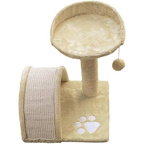 regalos kawaii gato Nayeco GA30066 - Rascador para gatos, 36 x 36 x 44 cm