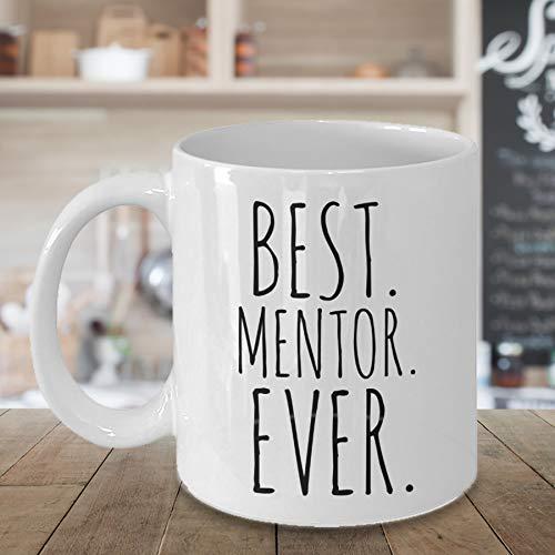 Best Mentor Ever Tasse Mentor Geschenk Dankeschön Geschenk für Mentor Coach Minimalist Personalisierte Mentor Kaffee Tasse Geschenk für Kollegen.