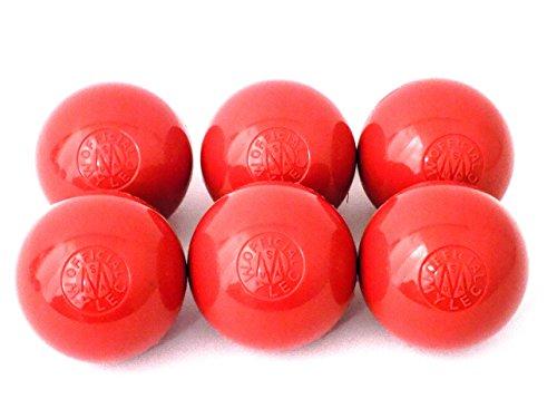MYLEC HOT WEATHER HOCKEY BALLS  RED BY MYLEC